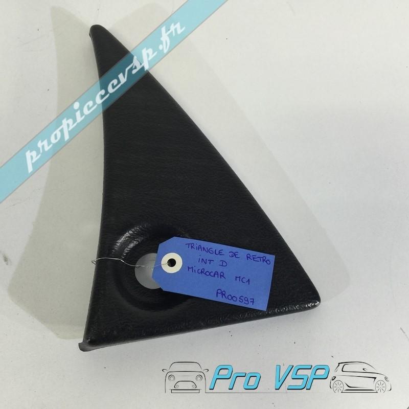 triangle de r troviseur occasion voiture sans permis microcar mc1 mc2. Black Bedroom Furniture Sets. Home Design Ideas
