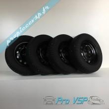 Lot de 4 roues complètes occasion pour Ligier Be Sun