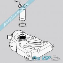 Réservoir de carburant pour Microcar Mc1 Mc2 Mgo 1 et 2 M8 F8C Ligier JSRC