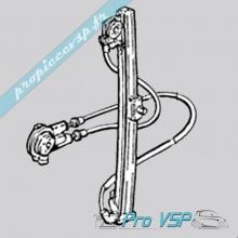 Lève vitre manuel gauche pour Microcar Virgo 1 , 2 et 3