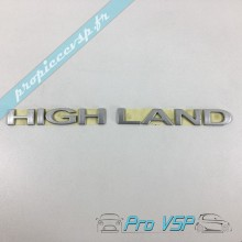 Logo Highland occasion pour Microcar Mgo 2 3 4