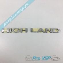 Logo Highland occasion pour Microcar Mgo 2 3 4