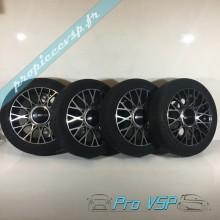 Pack jantes + pneus occasion pour Microcar Ligier