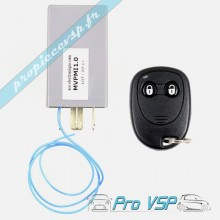 Ensemble télécommande + boitier récepteur pour microcar mc1 et mc2