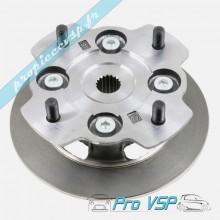 Disque de frein avant complet pour microcar lyra virgo et mc1 diamètre 170mm