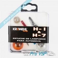 Coffret d'ampoules H1 H7