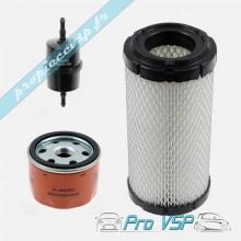 Kit 3 filtres pour moteur Lombardini focs et progress
