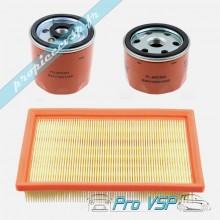 Kit 3 filtres pour moteur Lombardini focs