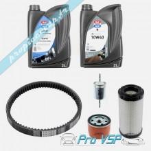 Kit entretien pour Ligier Be up Xtoo Max ( moteur essence )