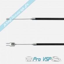 Câble de frein à main pour microcar virgo 1 2 3