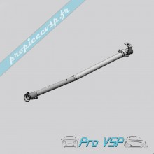 Tube d'échappement intermediaire pour Ligier Nova ( 4 ème montage ) , Be-up ( 3 ème montage ) , Be-two