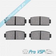 Plaquettes de frein arrière pour microcar mgo m8 et ligier ixo
