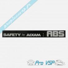 Autocollant ABS pour aixam impulsion et vision