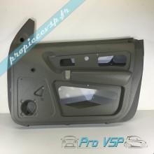 Panneau intérieur gris clair de porte droite pour ligier nova avec vitre électrique