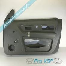 Panneau intérieur gris clair de porte droite pour ligier nova avec vitre manuel