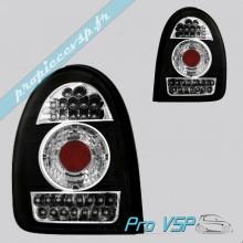 Feux arrière Tuning Dectane à LED couleur noir pour Chatenet Media , Barooder
