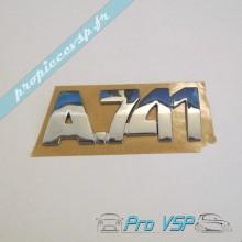 Logo de hayon pour aixam a741